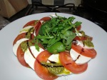 tomato and mozarella salad